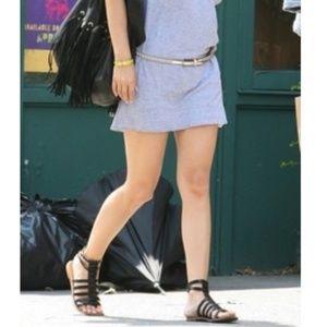 SAM EDELMAN Gilda Gladiator Strappy Black Sandals